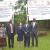 De gauche à droite : la vice-présidente de la CENI, le président de la CENI, l'ambassadeur des EU, le ministre de l'Intérieur et le directeur de l'IFES ©Iwacu