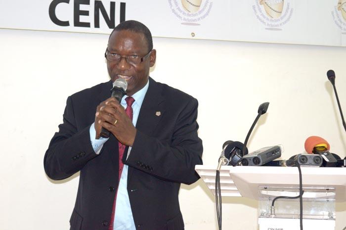 Pierre Claver Ndayicariye : « L'organisation des élections reste une tâche complexe à laquelle la Ceni ne saurait venir seule au bout. » ©Iwacu