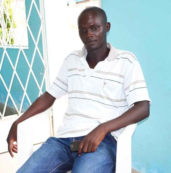 Jean-Claude Nindaba : « c'est de la pure injustice. » ©Iwacu