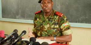 Le colonel Gaspard Baratuza  ©Iwacu