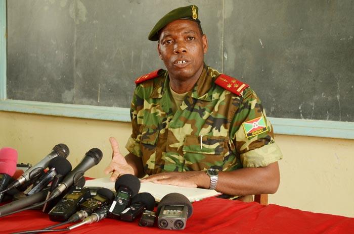 Colonel Gaspard Baratuza : «Cette décision concerne tous les contingents de l'Amisom»