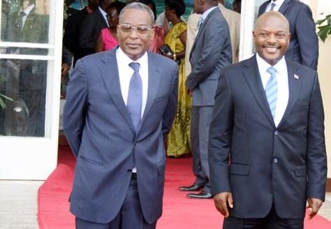 Bernard Busokoza, 1er vice-président, a annulé la décision du ministre de l'Intérieur, et le président de la République l'a démis le lendemain ©Iwacu