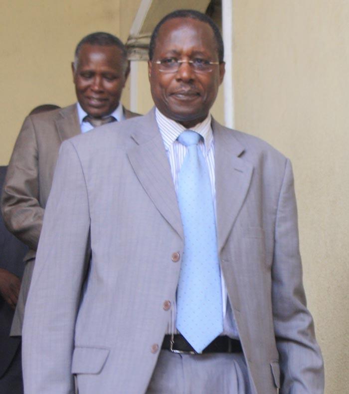 Charles Nditije : « La logique élémentaire sera de soutenir l'un des deux camps qui aura eu plus de votes au premier tour. » ©Iwacu