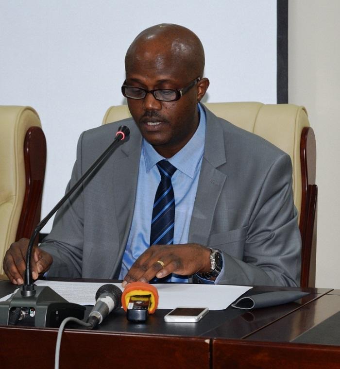 Libérat Mpfumukeko : La production actuelle d'énergie connaît un déficit important de plus de 20MW ©Iwacu