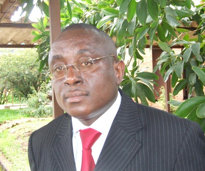 Pancrace Cimpaye : « La menace des massacres de la grande majorité des Burundais qui refusent le mandat du président sortant est plus que réelle et les préparatifs vont bon train. » ©Iwacu