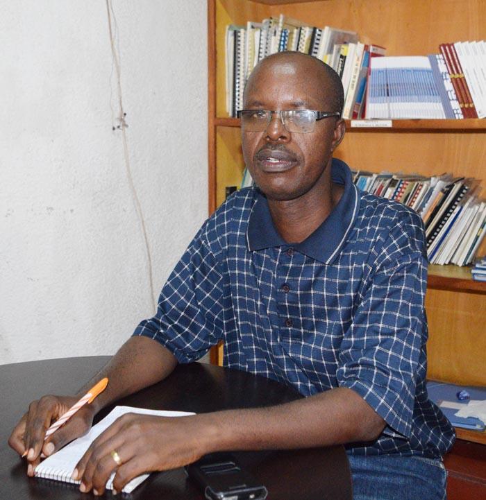 Pour Pierre Nduwayo, l'Etat a une mauvaise habitude de mettre les gens devant un fait accompli, sans les consulter ©Iwacu