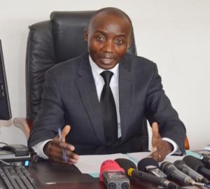 Valentin Bagorikunda : « Le ministère public se réserve le droit de révéler l'identité des commanditaires et leurs complices. » ©Iwacu
