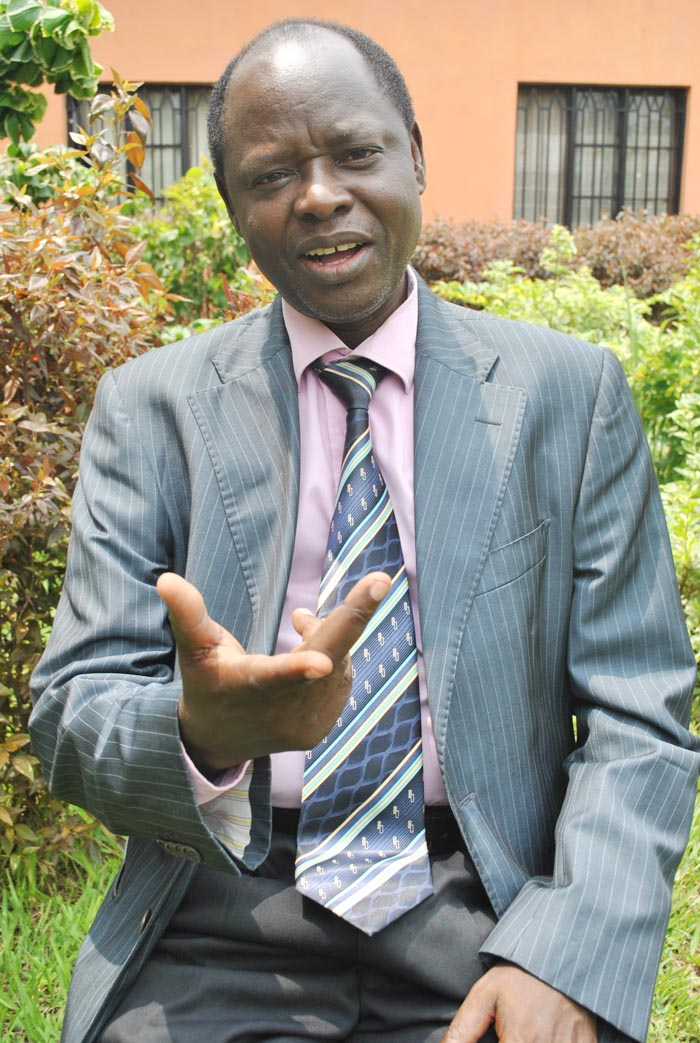 Chevineau Mugwengezo : « Ca ne signifie pas que le cercle pour adhérer à l'ADC est fermé.»   ©Iwacu