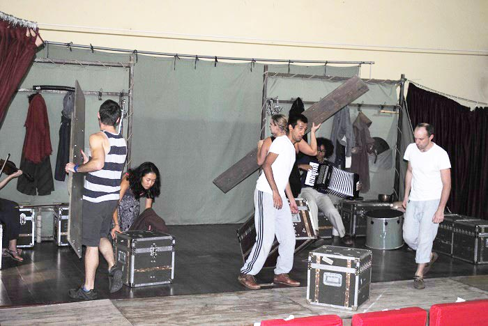La Compagnie en pleine répétition ©Iwacu