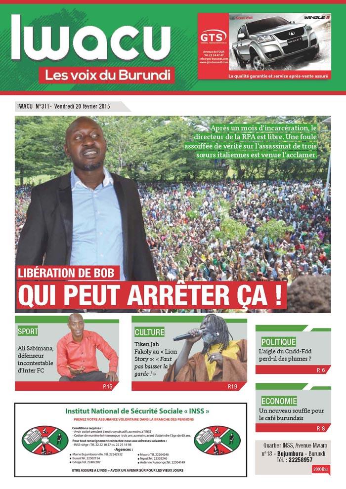 IWACU Hebdomadaire n°311