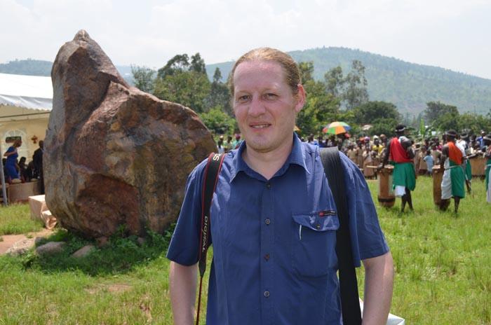 Philip Kopf : « Il est difficile d'obtenir le visa pour le Burundi. » ©Iwacu