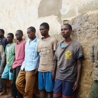 Des rebelles capturés par les militaires lors des combats à Cibitoke ©Iwacu
