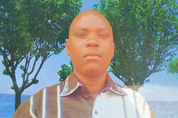 Alphonse Mpawenimana (35 ans), tué à bout portant par un lieutenant. Il avait quatre enfants ©Iwacu