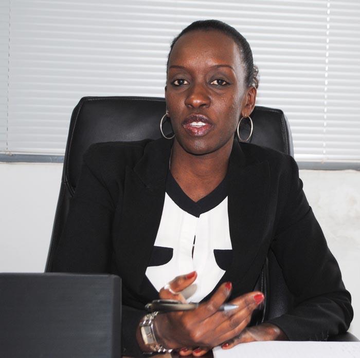 Ange Dany Gakunzi : « Un traitement du dossier  doit durer deux jours à moins qu'il y ait des complications. » ©Iwacu