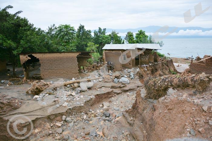 A Rutunga, les pluies torrentielles ont fait des ravages