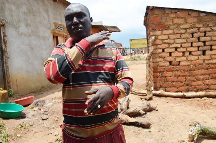 Elias Ngendakuriyo : « Toute la population est contre les décisions de la Cntb, alors qu'elle devrait travailler pour nous. » ©Iwacu