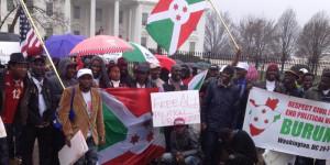 Les manifestants à Washington DC ©Iwacu