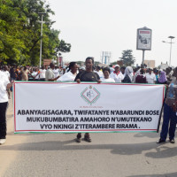 Manifestation de la paix à Bujumbura ©Iwacu