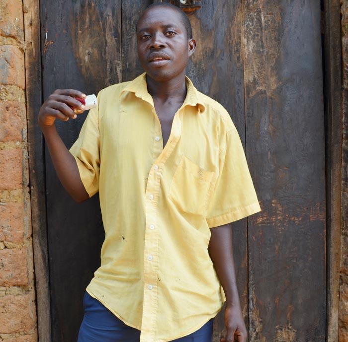 Martin Bukuru : « En tant que rapatrié, je suis contre les décisions de la Cntb car elles ne visent pas la réconciliation.» ©Iwacu