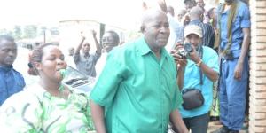 Pierre Claver Mbonimpa en comparution ©Iwacu