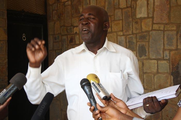 Pierre-Claver Mbonimpa : « Nous avons des autorisations de visiter les prisonniers depuis 2002. » ©Iwacu