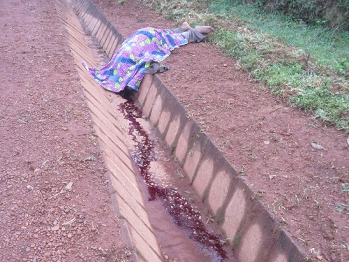 Sa dépouille a été retrouvée aux environs de 5heures 30 minutes du matin ©Iwacu