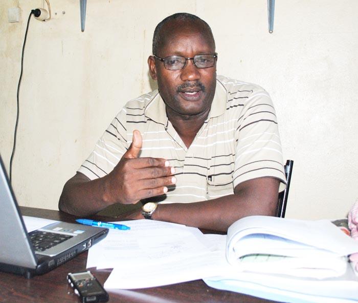 Tharcisse Gahungu : «Nous allons porter plainte contre le gouvernement burundais qui menace les travailleurs qui ont fait la grève. » ©Iwacu