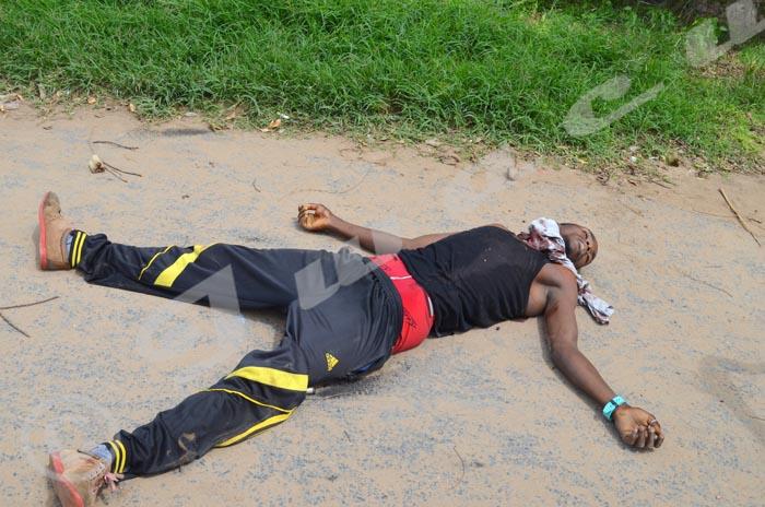 Ce jeune homme a été tué par balle à Mutakura ©Iwacu