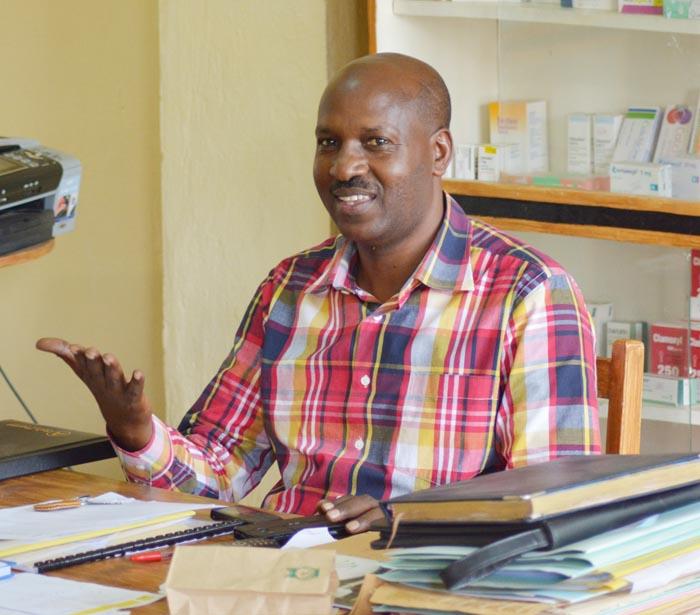 Cassien Ntandambanya, président de l'ordre national des pharmaciens du Burundi : « Que le ministère nous laisse vendre l'Artesunate Amodiaquine. » ©Iwacu