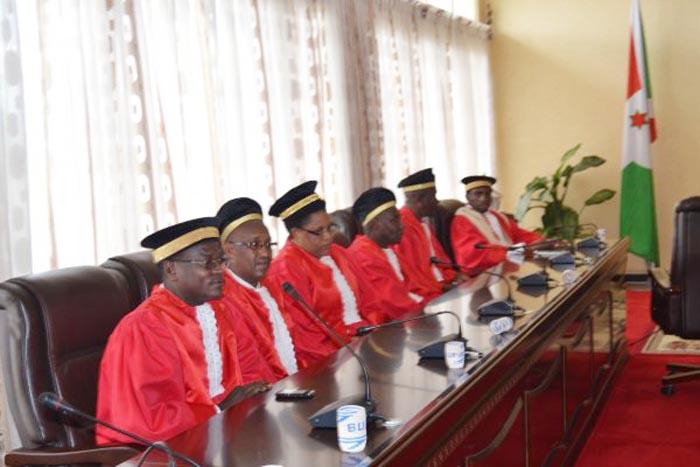 La Cour Constitutionnelle est compétente pour interpréter la Constitution à la demande du Président de la République, du Président de l'Assemblée nationale, du Président du Sénat, d'un quart des députés ou d'un quart des sénateurs ©Iwacu