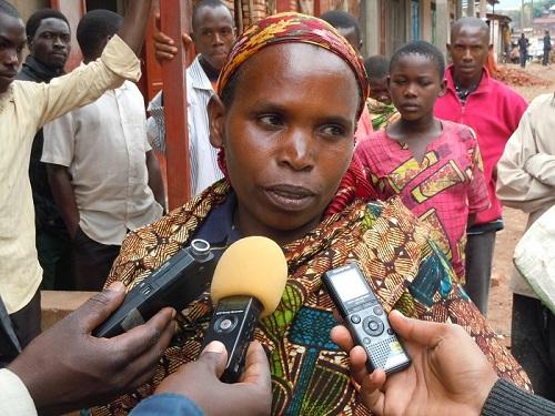 Spès Ndayishimiye : « Ils l'accusent d'une réunion nocturne, alors qu'il était au lit. » ©Iwacu