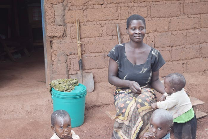 Evelyne Kabura : « Nous avons quitté le Burundi parce que la situation sécuritaire n'est pas rassurante » ©Iwacu