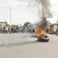 Pneus brûlés à l'avenue Muyinga