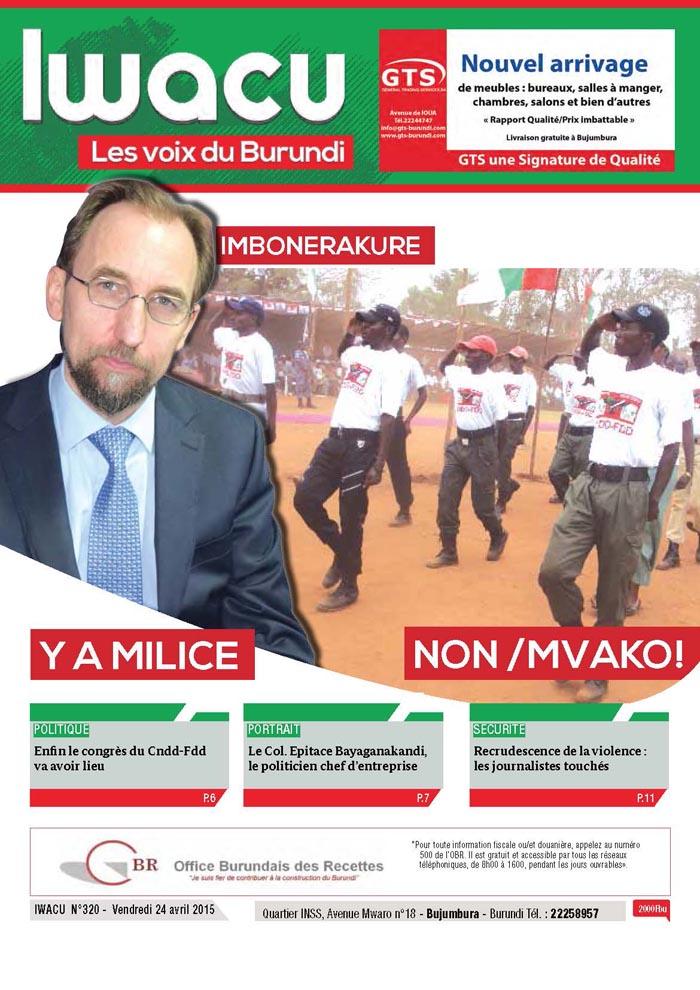 IWACU Hebdomadaire n°320