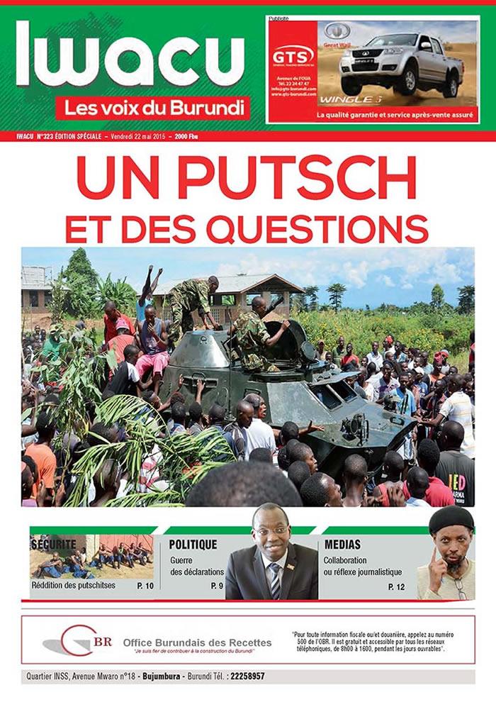 IWACU Hebdomadaire n°323