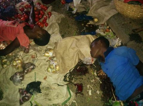 Les deux vendeuses de fruits tués par les grenades ©J.R. Nduwimana