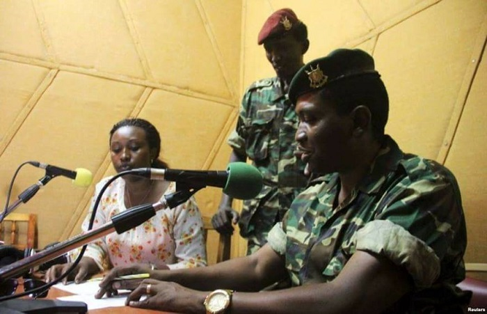 Général Godefroid Niyombare : « Nous condamnons le cynisme et le sadisme qui ont caractérisé l'attitude de Nkurunziza a l'égard du peuple burundais en souffrance. »