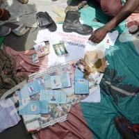 Les objets découverts chez l'imbonerakure tabassé ©Iwacu