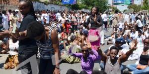 Les femmes manifestent contre le 3è mandat de Nkurunziza
