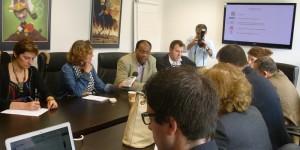 Les intervenants ont tenu à souligner la solidarité des journalistes et des médias burundais