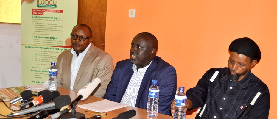 Antoine Kaburahe, directeur du Groupe de presse Iwacu : «Nous devons continuer à travailler, malgré la peur au ventre. Nous refusons la pensée unique, car nous savons que les Burundais veulent la pluralité des opinions. »