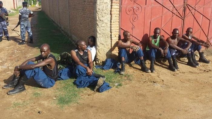 Les putschistes arrêtés