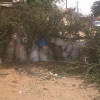 Nouvelle version de barricade à Musaga