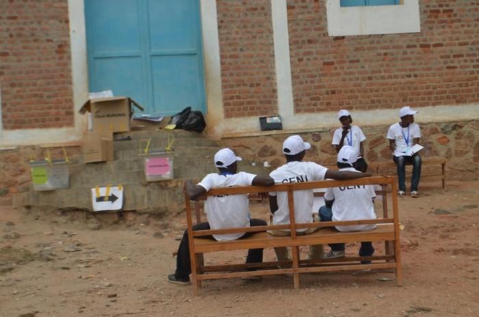 Bujumbura rural Kanyosha les agens de la Ceni sont chomés