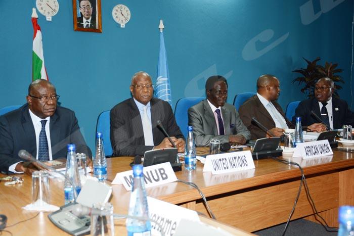 Mardi 23 juin 2015 - Sous la médiation de Abdoulaye Bathily envoyé spécial de Ban Ki-Moon, le gouvernement du Burundi, le Cndd-Fdd et ses alliés n'ont pas répondu présent au dialogue interburundais qui devait débuter aujourd'hui ©O.N/Iwacu