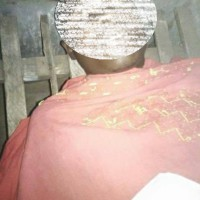 Le corps sans vie d'Issa Shabani Mwamba