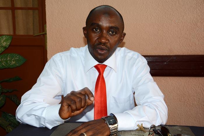 Jérémie Minani, porte-parole du mouvement dit Arusha