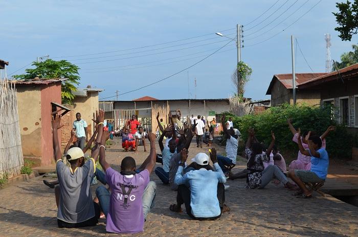 Nyakabiga : une nouvelle façon de manifester