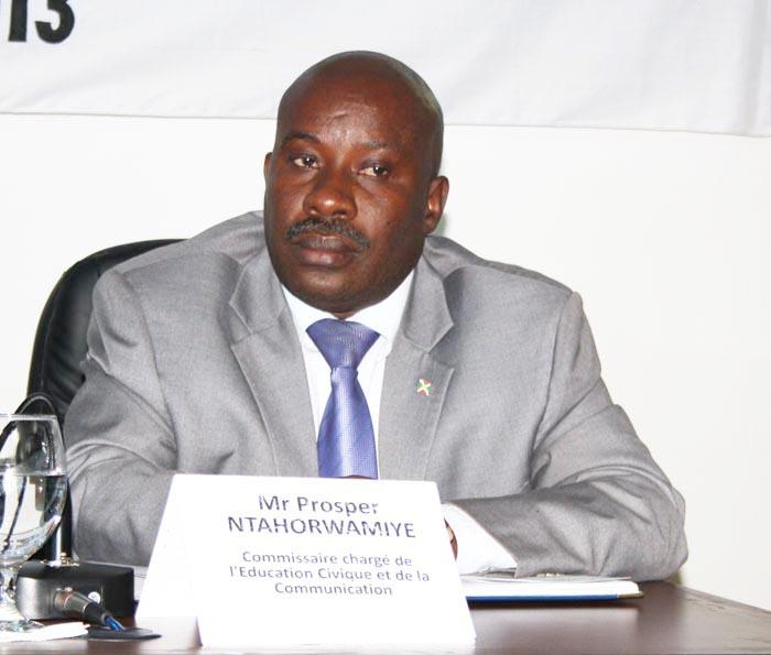 Prosper Ntahorwamiye : «A trois, nous pouvons désormais statuer»