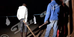 Nyakabiga, des jeunes en faction à un coin de rue